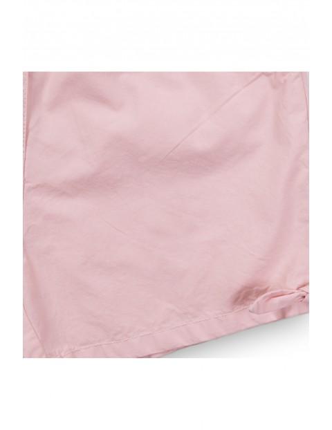 Szorty bawełniane dziewczęce różowe