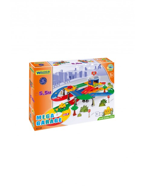 Kid Cars 3d - Garaż z trasą 5,5m
