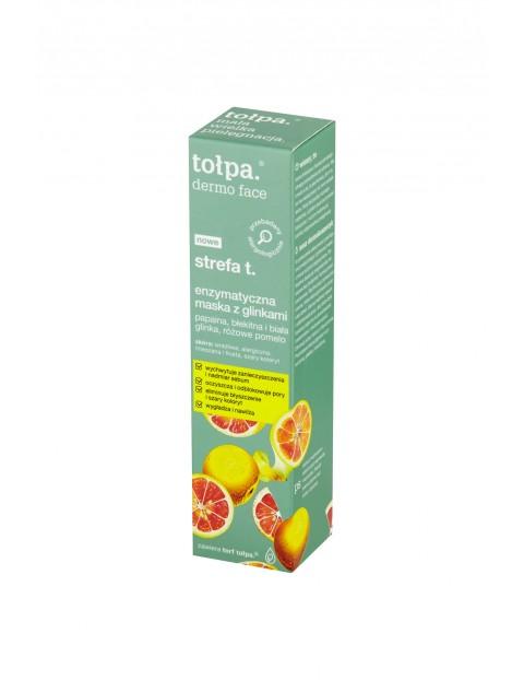Strefa T Enzymatyczna maska z glinkami 40 ml