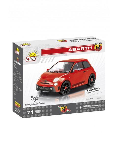 Klocki COBI 24502 ABARTH 595 Competizione - 71 elementów wiek 7+