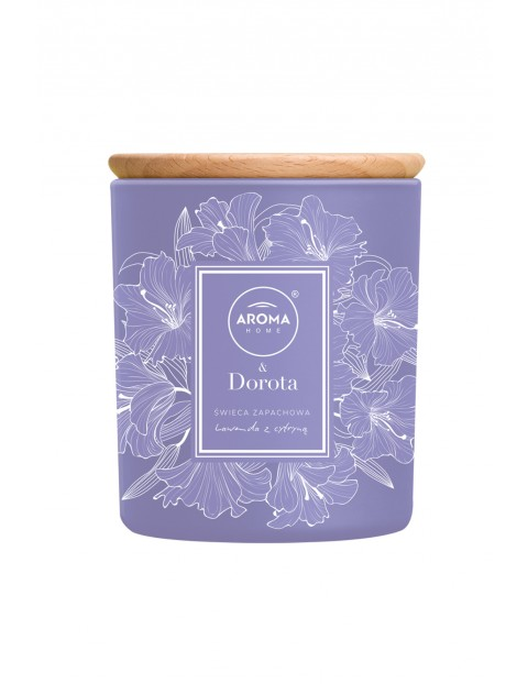 Aroma Home & Dorota Świeca  Lawenda z Cytryną 260ml/ 150g