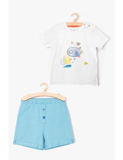 Komplet niemowlęcy - tshirt + spodenki