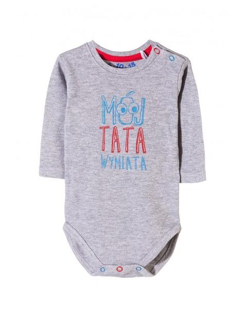 Body niemowlęce z długim rękawem 5T3510
