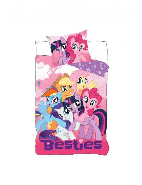 Pościel dla dziewczynki Pony 160x200+70x80 cm