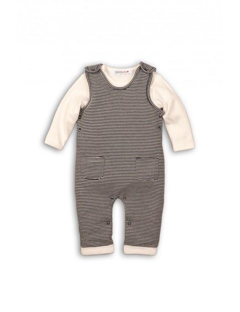 Komplet niemowlęcy body+śpiochy