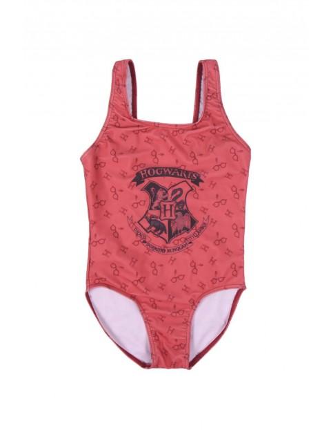 Kostium kąpielowy dziewczęcy jednoczęściowy Harry Potter