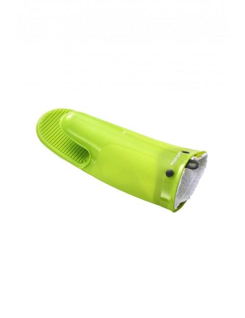 Silikonowa rękawica z bawełnianą wkładką -  zielona