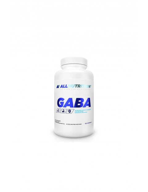 Suplementy diety -  Allnutrition GABA - 120 kapsułek