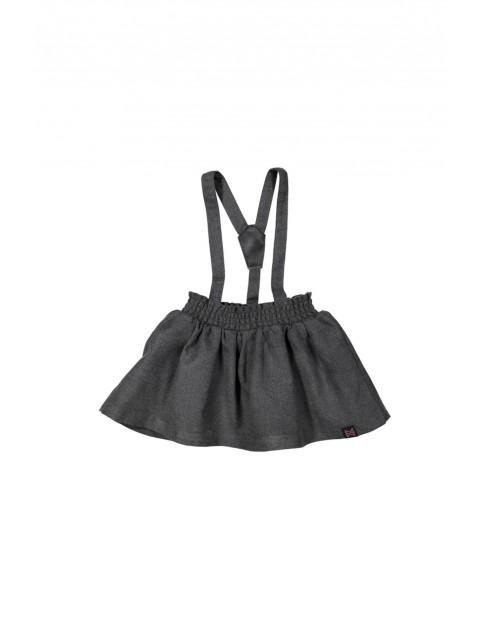 Spódnica dziewczęca z szelkami 3Q35A6
