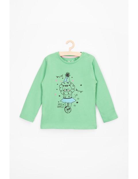 Bluzka niemowlęca zielona