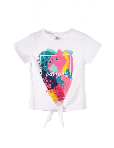 T-shirt dziewczęcy 4I3451