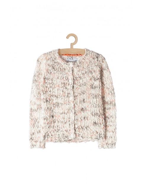 Sweter dziewczęcy kolorowy
