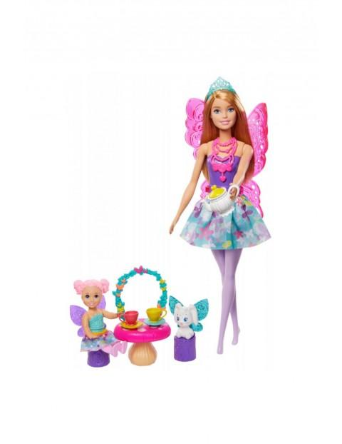 Barbie Dreamtopia - Baśniowe przedszkole Podwieczorek z Wróżką Lalka wiek 3+