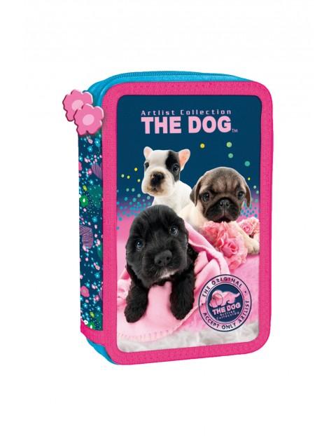 Piórnik dziewczęcy The Dog