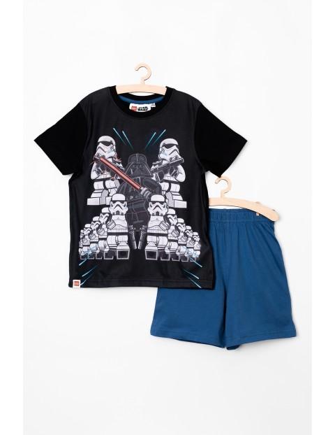 Piżama chłopięca LEGO Star Wars czarno-niebieska