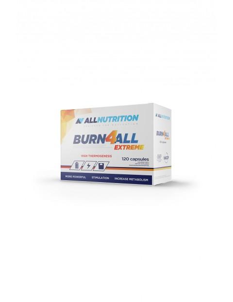 Suplementy diety - Allnutrition Burn4All Extreme - Spalacz tłuszczu - 120 kapsułek
