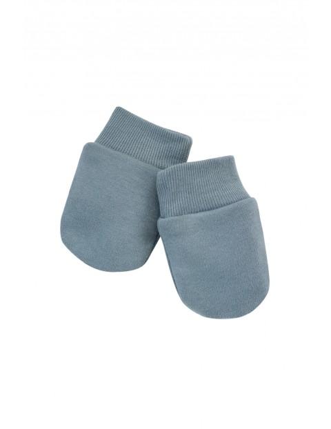 Rękawiczki dla niemowlaka- niedrapki Little Car