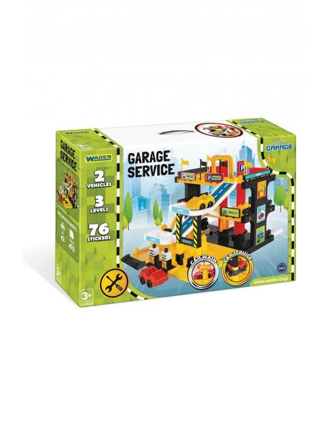Garaż Serwis - zestaw do zabawy 3+