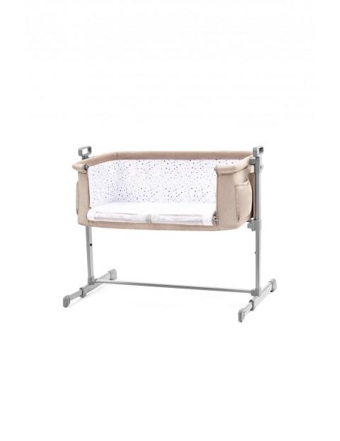 Łóżeczko dostawne NESTE Kinderkraft- beżowe