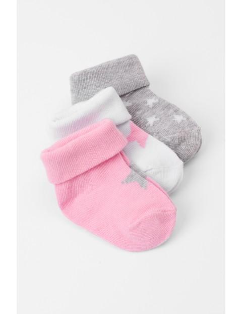 Skarpety niemowlęce 3pak 5V3614