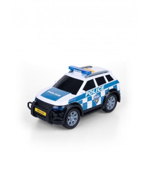 Samochód Policyjny- światło i dźwięk 3+