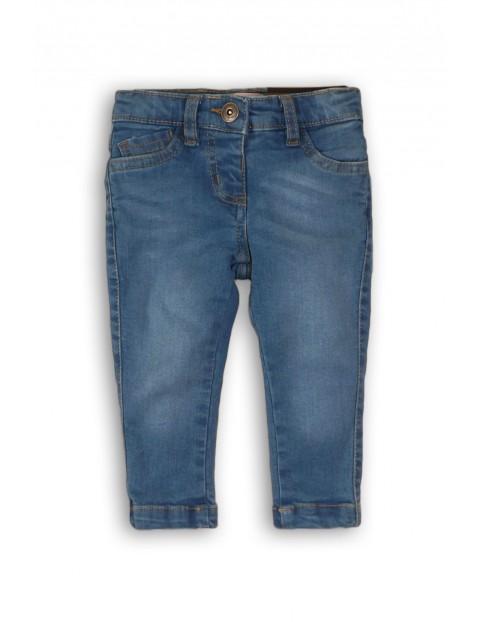 Jeansowe spodnie dla niemowlaka