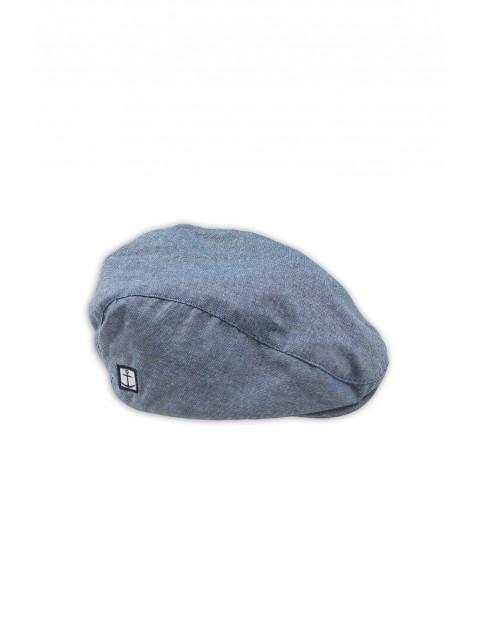 Niebieska czapka chłopięca