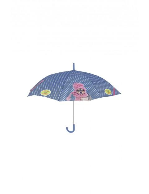 Parasol automatyczny z psem w czapce