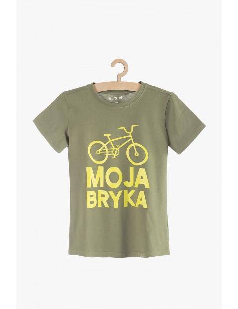 "T-shirt dla chłopca ""Moja Bryka"""