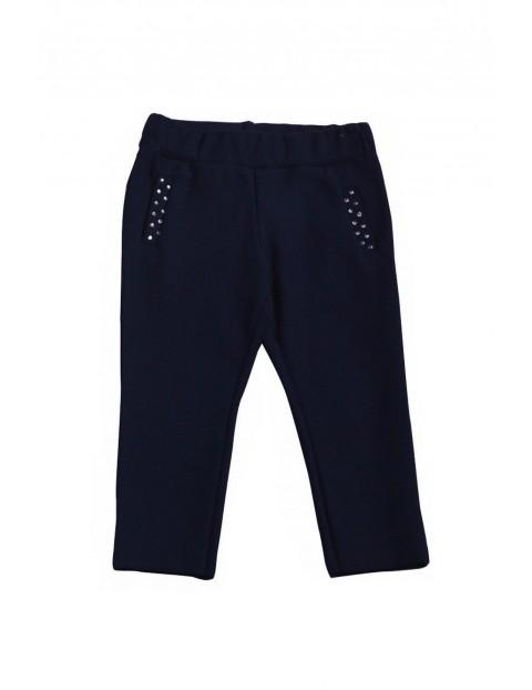 Spodnie dziewczęce 100% bawełna 3L35BE