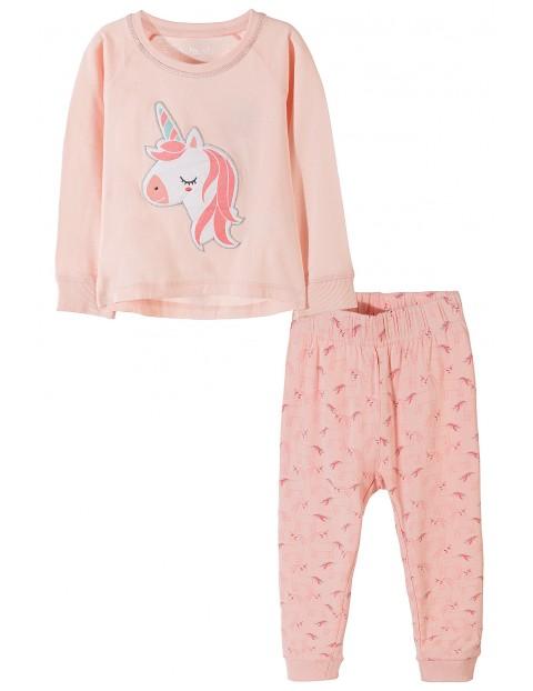 Piżama dziewczęca w jednorożce