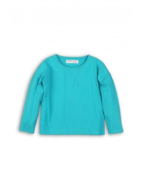 Bluzka niemowlęca niebieska- 100% bawełna