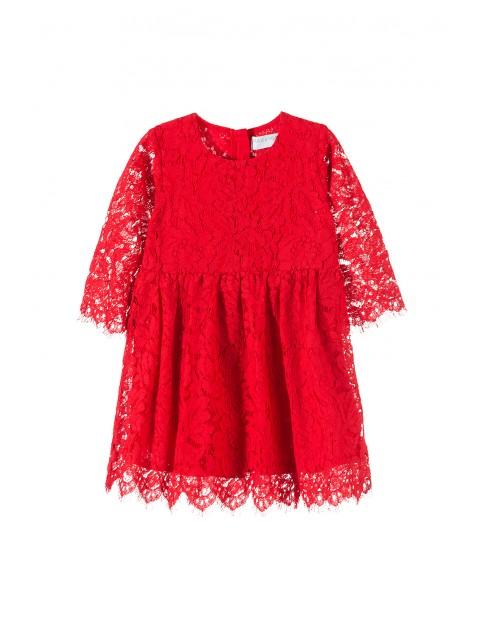 Sukienka koronkowa dla dziewczynki3K3514