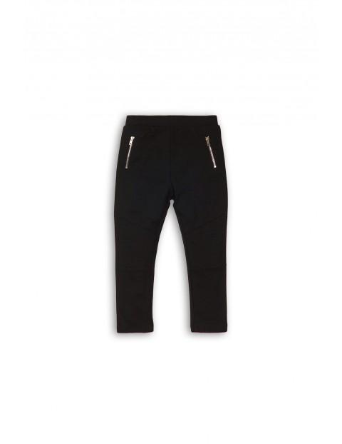 Czarne spodnie dla niemowlaka