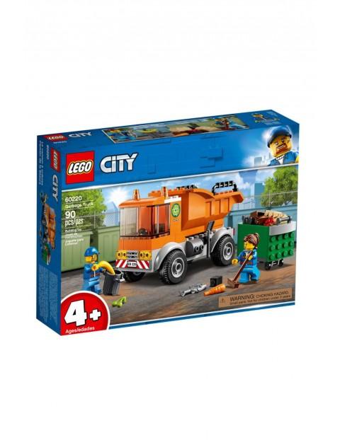 Klocki LEGO City - Śmieciarka - 90 elementów wiek 4+
