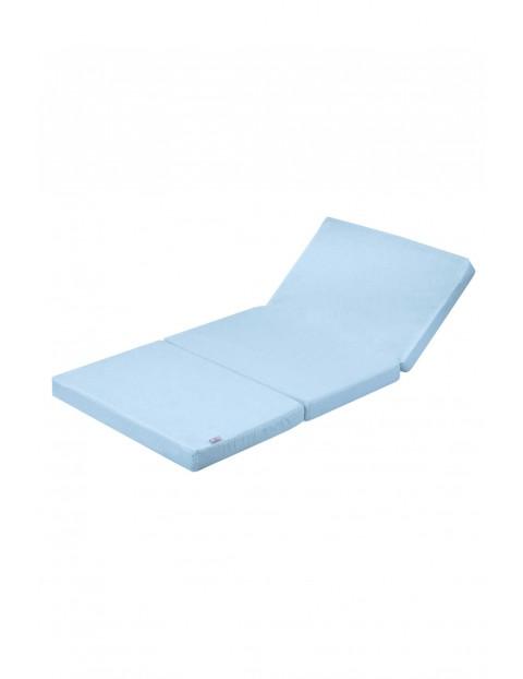 Materac 120x60x6 niebieski 5O2888