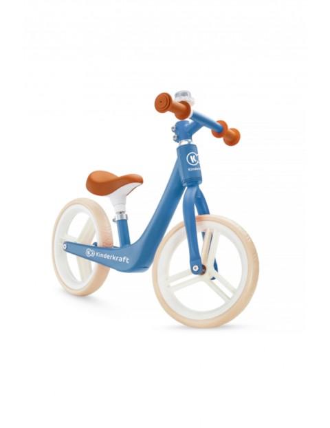 Rowerek biegowy Kinderkraft FLY PLUS niebieski wiek 3+