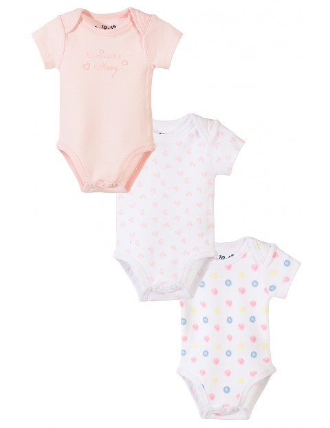 Body niemowlęce 3pak 5W3432