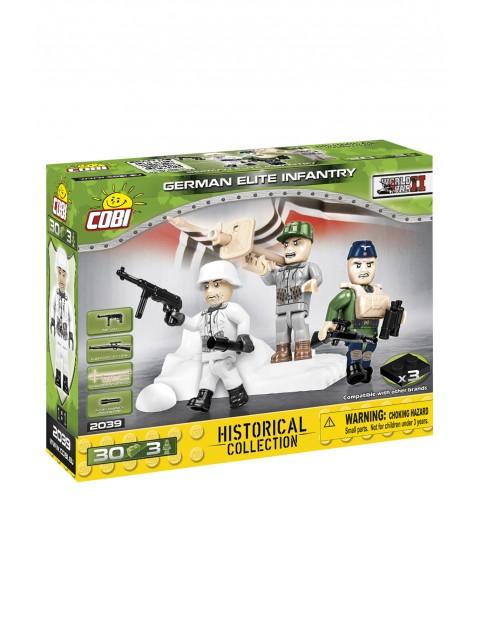 Klocki COBI 2039 German Elite Infantry Figurki Historical Collection - 30 el wiek 5+