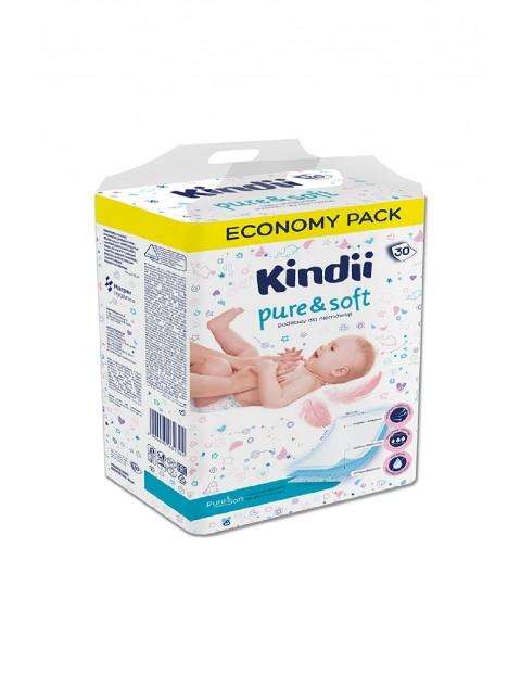Podkłady jednorazowe Kindii Pure& Soft 30 szt. (60x40cm)
