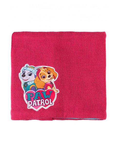 Komin dziewczęcy gruby Psi Patrol