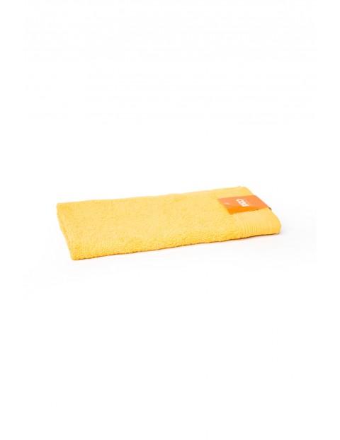 Bawełniany ręcznik żółty 2-pack  30 x 50 cm