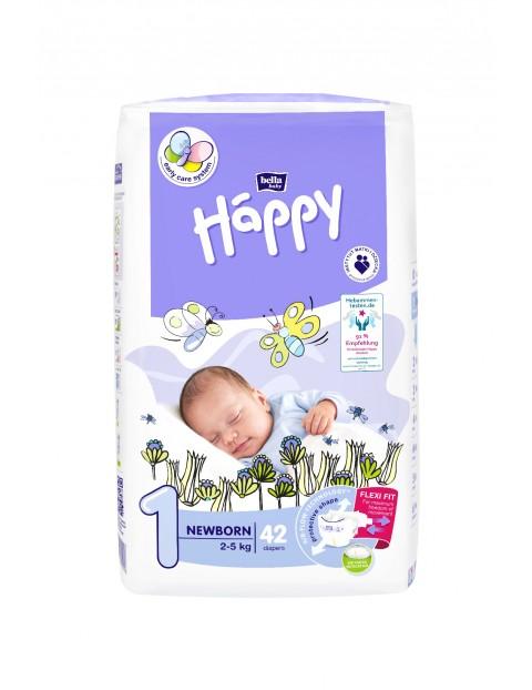 PIELUCHY HAPPY newborn 2-5kg 42szt.