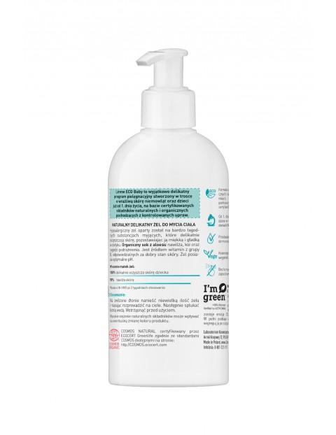 Lirene ECO BABY Naturalny delikatny żel do mycia ciała, ECOCERT 250 ml