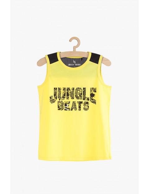 """Koszulka chłopięca na ramiączka """"Jungle Beats"""""""