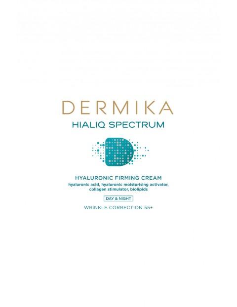 DERMIKA Hialiq Spectrum Krem ujędrniający 55+ - 50 ml