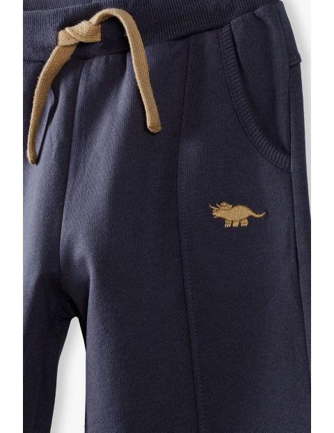 Spodnie dresowe chłopięce z Dinozaurem