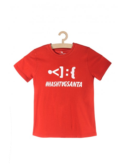 Koszulka chłopięca #Santa