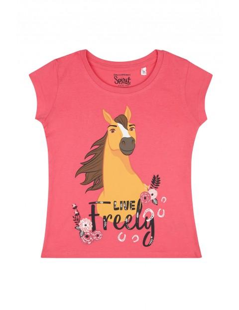 T-shirt dla dziewczynki- Spirit