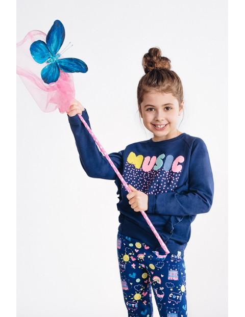 Bluza dresowa dziewczęca 3F3402